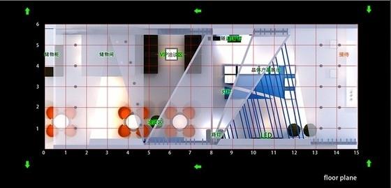 [广东]深圳国际光电博览会某展位设计方案
