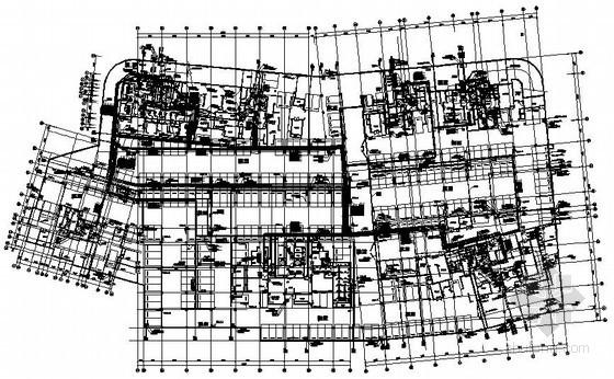 [福建]高档住宅地下室给排水施工图纸