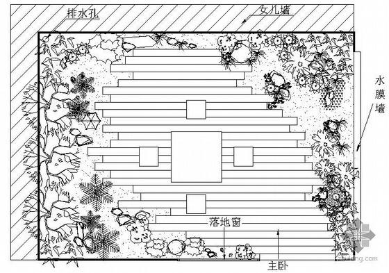 [重庆]某私家花园景观设计图