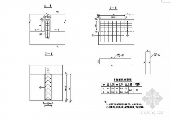 104m组合体系斜拉桥下部桥台挡块钢筋构造节点详图设计