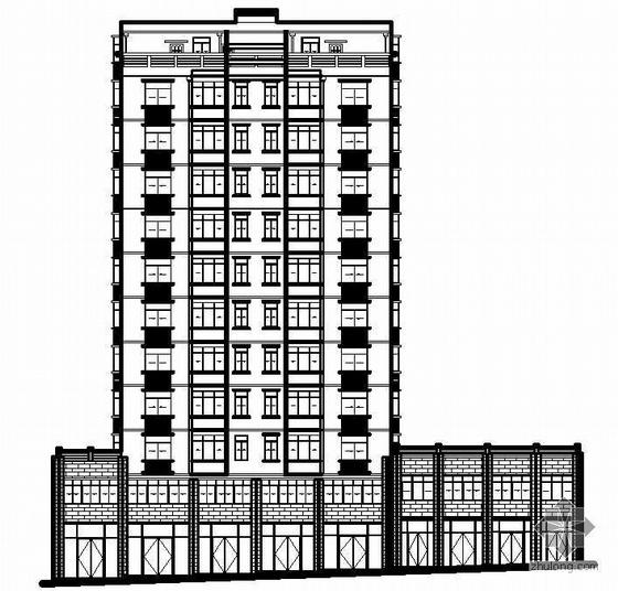 某十二层公寓建筑设计施工图