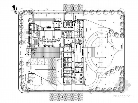 [浙江]研发大楼全套智能系统电气施工图纸(多安装大样 设备点位表)