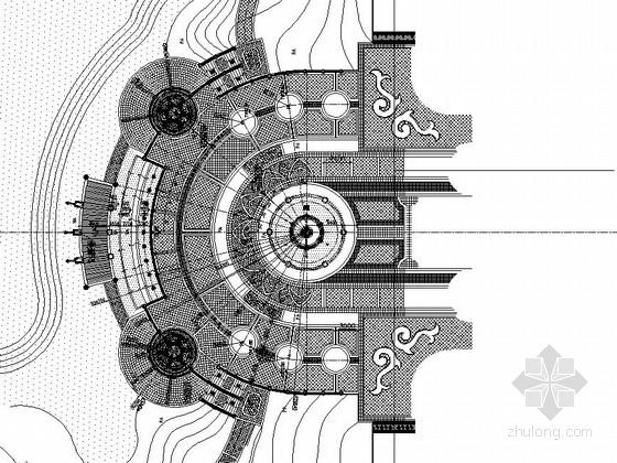 [东莞]居住区主入口水景设计施工图