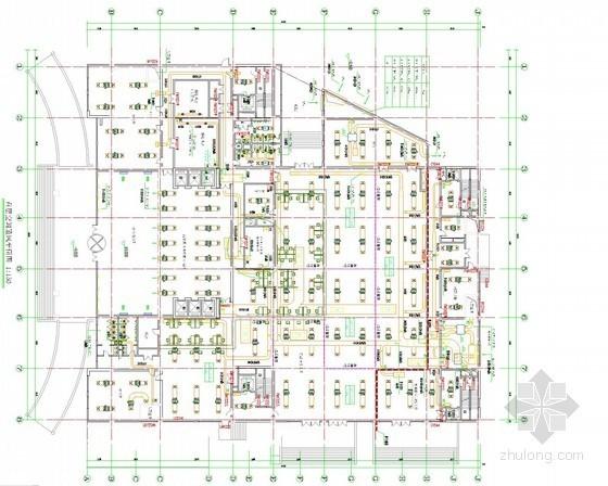 [山东]高层办公大厦暖通空调设计施工图纸(详细设计说明 人防工程)