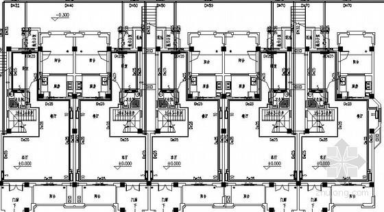[山东]别墅住宅楼采暖设计施工图