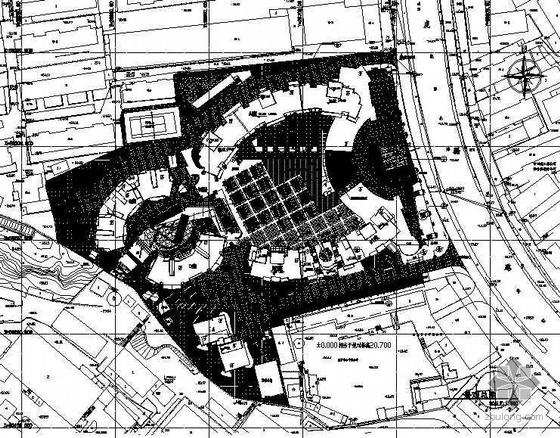 江苏南京某小区景观设计施工图
