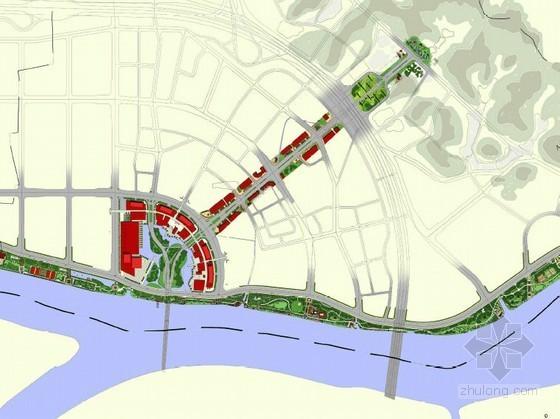 [广州]居住区周边滨水绿地及道路周边环境景观设计方案