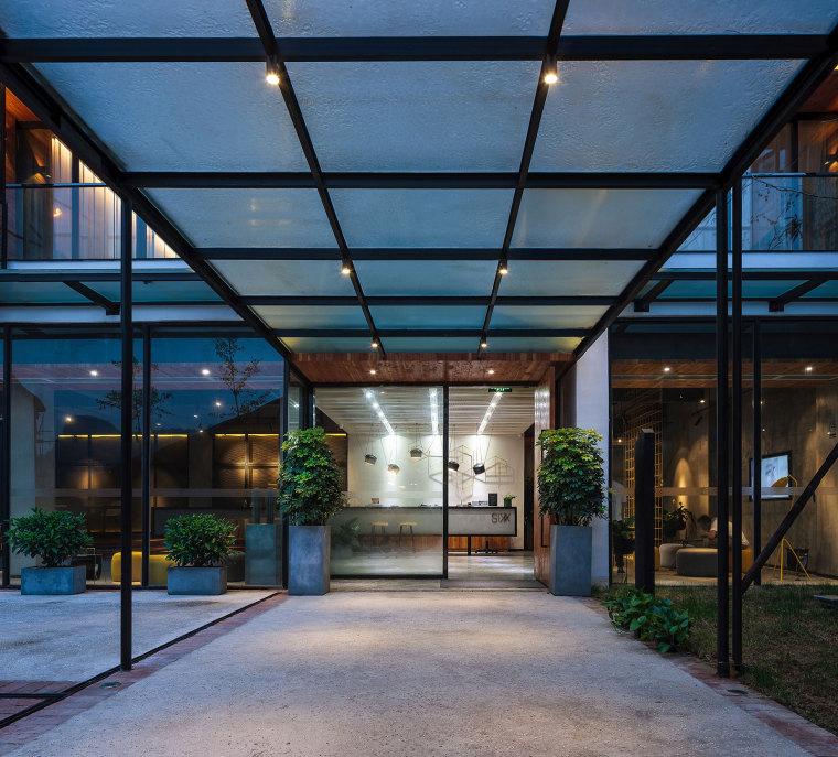 张家界传统湘西风格的六甲设计酒店-23
