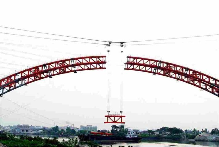 预制梁桥安装施工工法与解析第三讲-装配式钢管混凝土拱桥施工