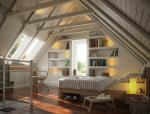 阁楼卧室3D模型下载