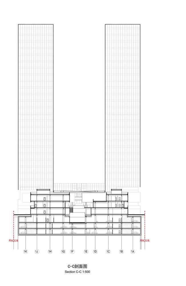 上海浦东前滩世贸建筑-15