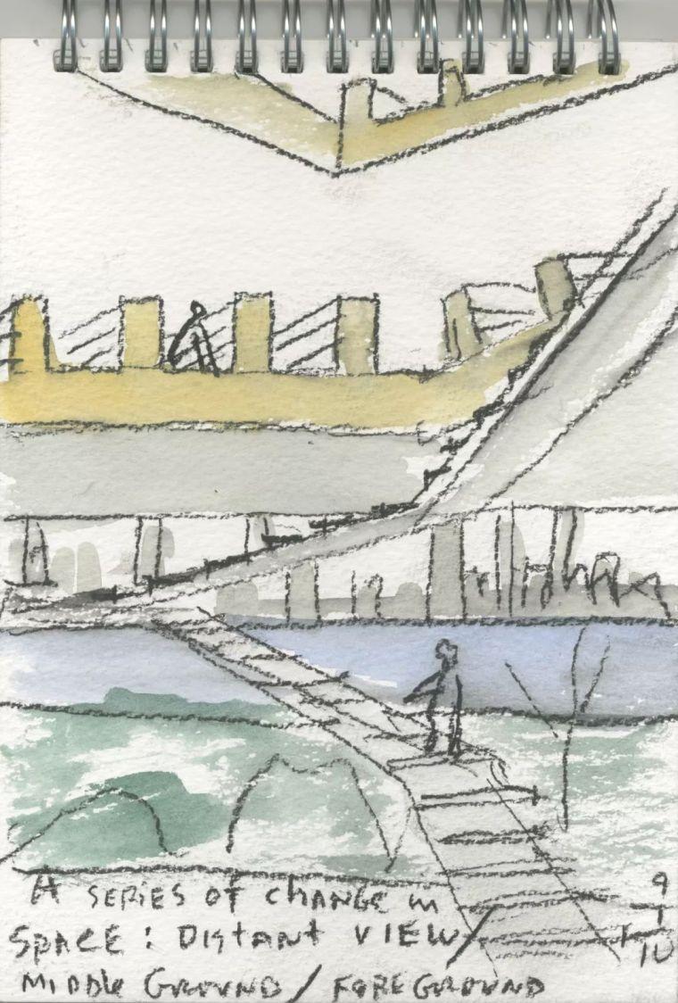 斯蒂文·霍尔在中国的首个作品展,向我们摊开了他个人的手绘本_27