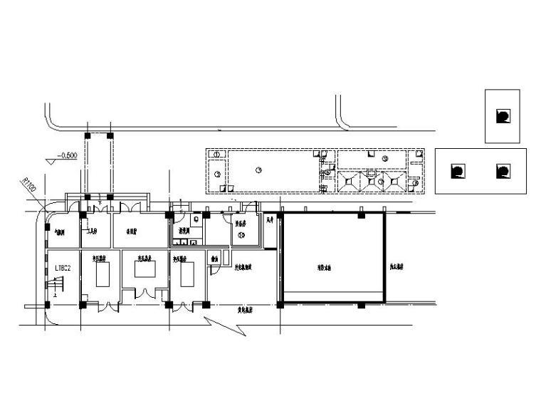 某市人民医院污水处理工程施工图(CAD,14张)