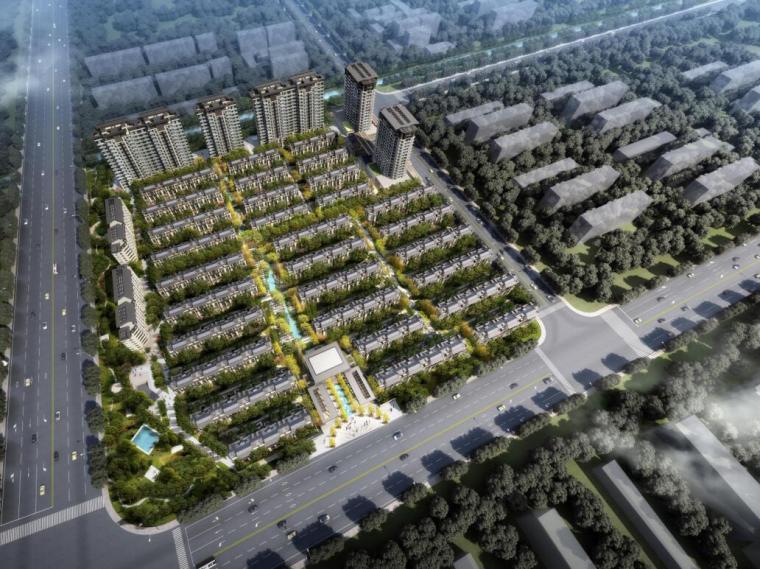 [上海]保利周浦首创项目建筑方案文本设计(PDF+153页)