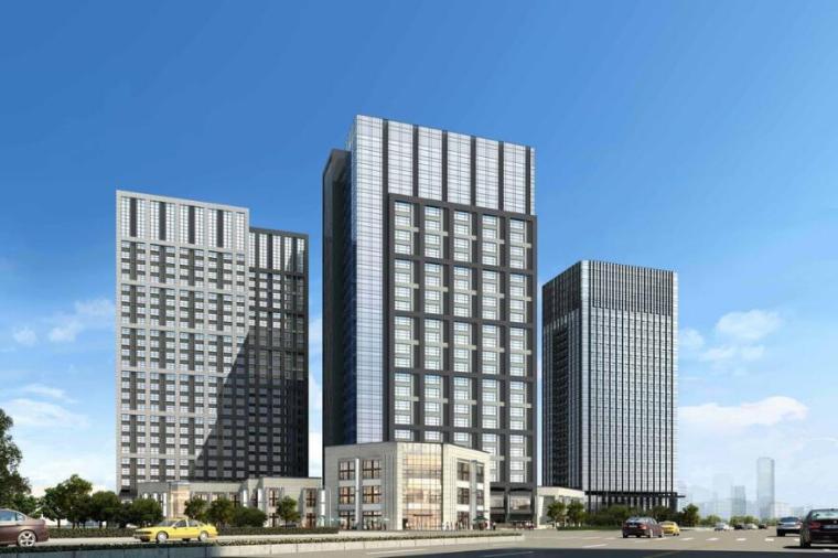 西安高层办公楼项目系统图