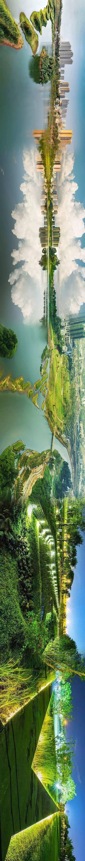 又大又美又霸道,我就爱这样的湿地公园!