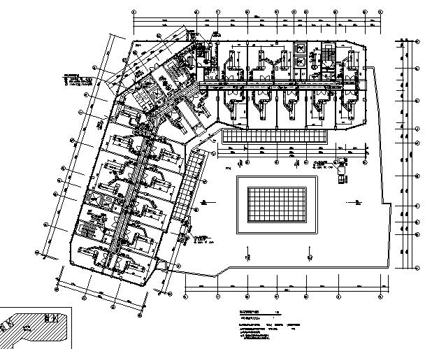 商业综合体暖通施工图纸(空调、通风、防排烟、bas)_4