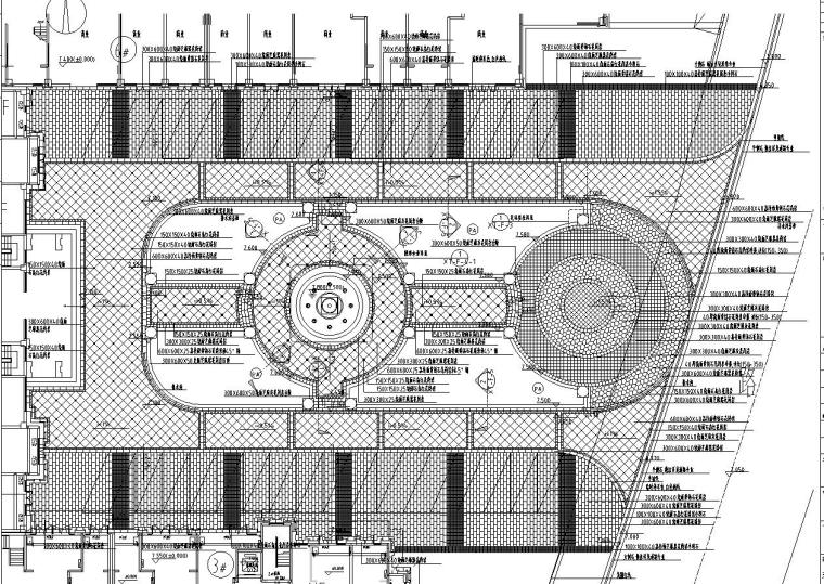 [安徽]当涂恒生阳光城景观项目全套施工图设计(蓝图)