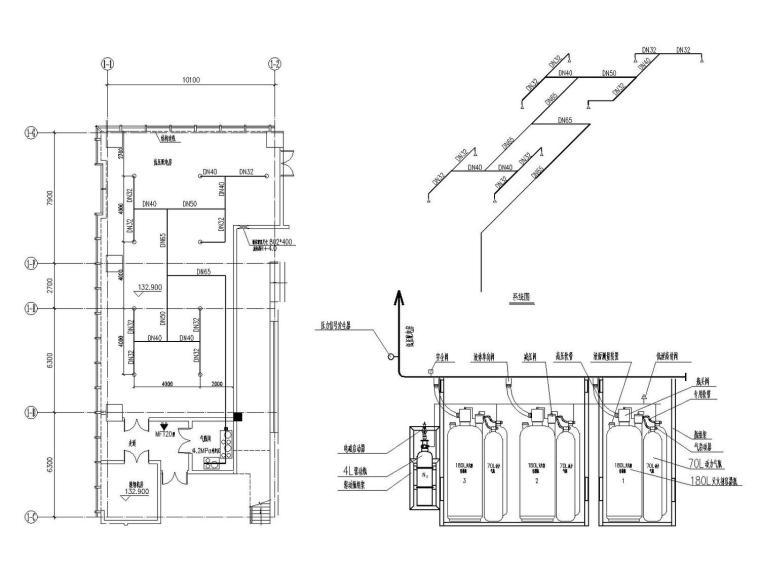 [深圳]8栋超高层商务中心给排水消防全套施工图177张(含泵房)