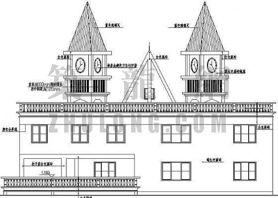 某小区山顶会所建筑设计方案