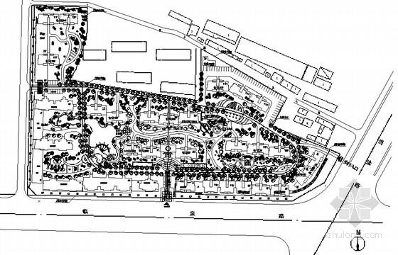 [合肥]住宅小区园林景观工程施工图