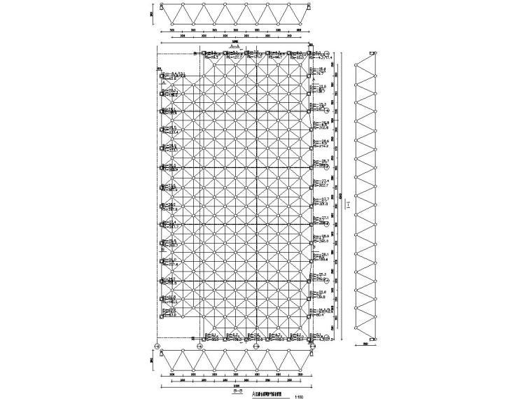 20.8mX40.4m舞台网架结构施工图