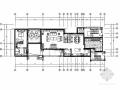 [重庆]清新高雅法式风格叠拼别墅室内装修CAD施工图(含效果)