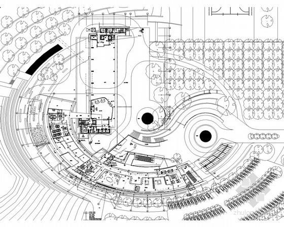[湖南]办公楼超全弱电系统最新设计施工图纸(政务中心区 会议区 餐饮区 地下室)