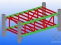 [广州]框架机构办公楼钢结构连廊施工专项方案(附流程图)