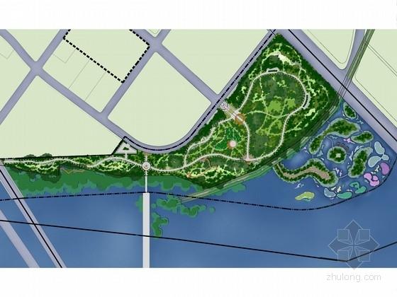 [天津]生态城市主题文化公园绿化设计方案