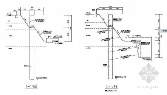 [浙江]深基坑土钉墙以及悬臂排桩支护施工方案(专家论证)