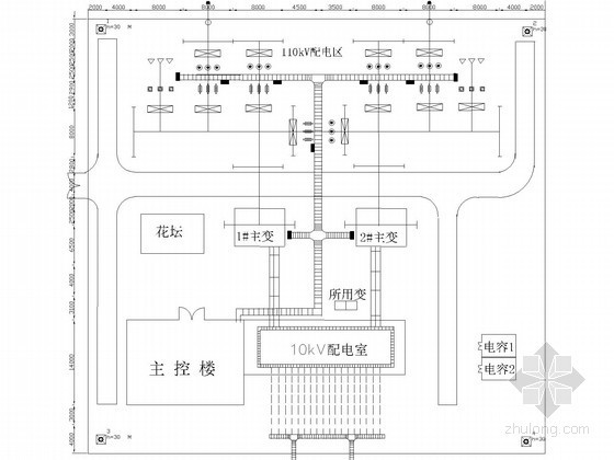 大型110KV变电站毕业设计资料