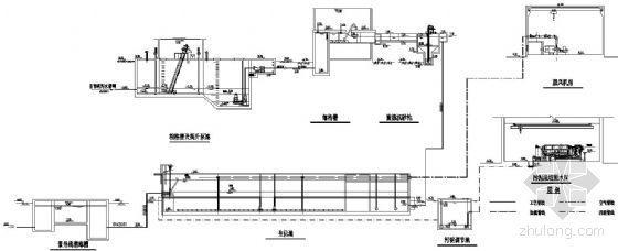 河北某污水处理厂工艺流程图
