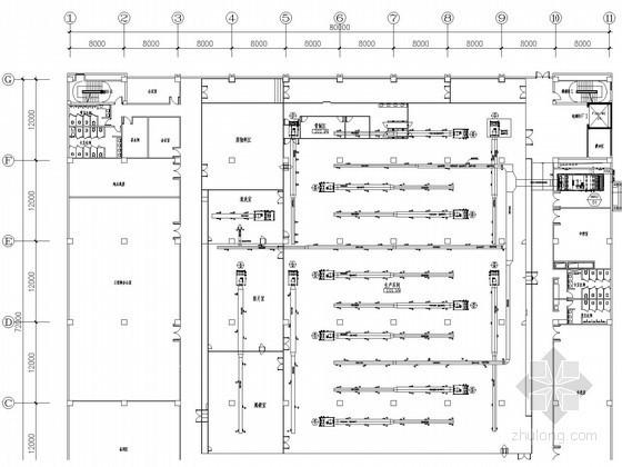 某车间空调通风及动力设计施工图