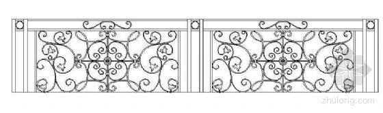 铁艺栏杆图样集