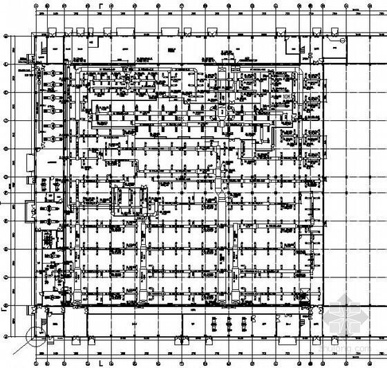 [湖南]洁净厂房通风空调系统竣工图纸