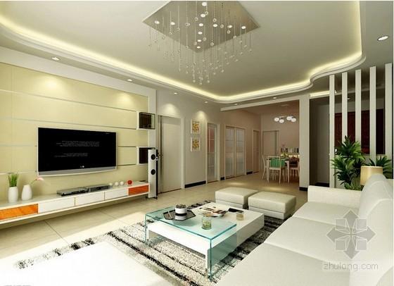 家居室内装饰工程预算书(含工程量计算、施工图)