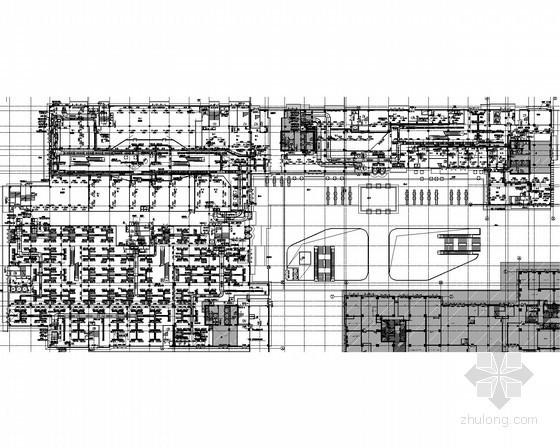 [重庆]多层大型商业楼空调通风及防排烟系统改造设计施工图(含机房设计)