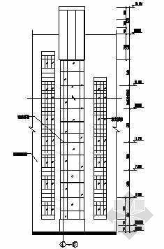 一套钢结构观光电梯图纸
