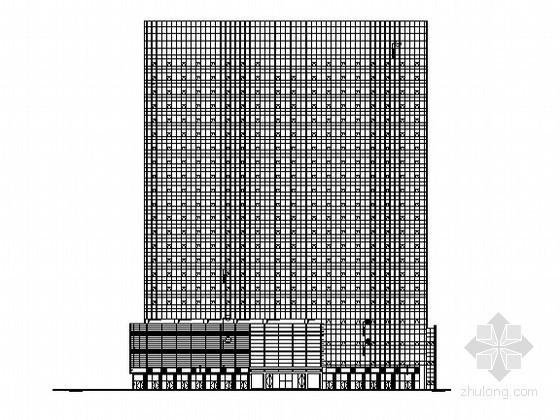[深圳]某二十二层高层商业办公综合楼建筑施工图