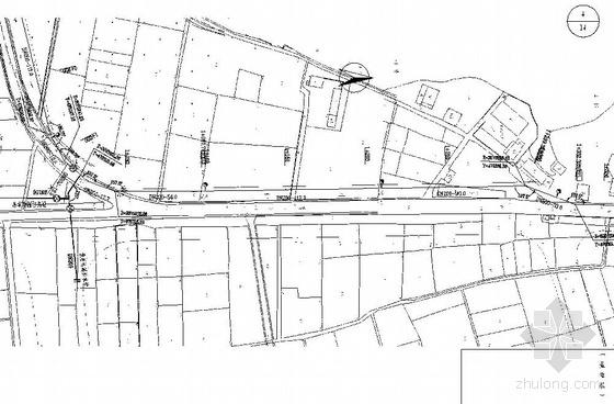 瑞安市某乡供水管网改造工程施工图