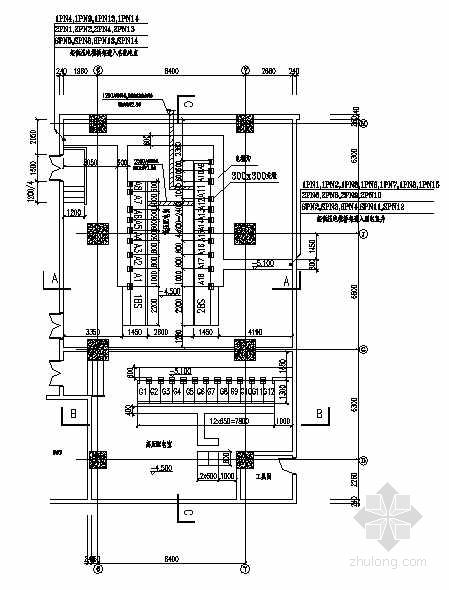 某10KV变电所高低压配电系统图