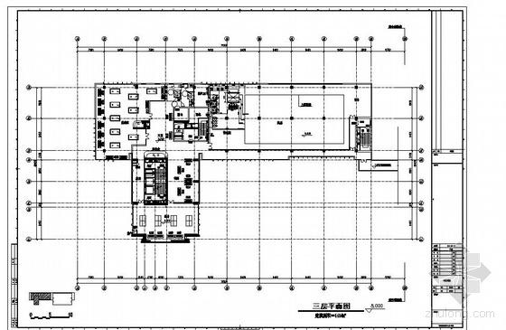 上海某大厦25X12泳池池底布水全套图