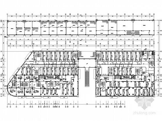 [安徽]商贸城空调通风设计施工图纸(含审图意见,负荷计算)