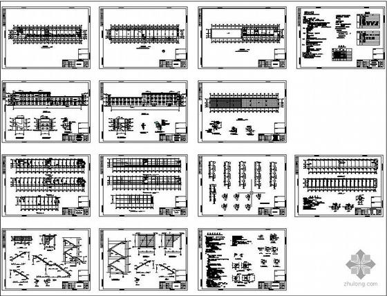 某船厂办公楼建筑结构图