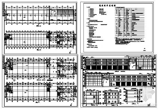 某三层综合楼建筑方案图-4