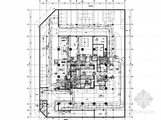 [广东]超高层综合楼空调及通风系统设计施工图(风冷热泵 大院设计)