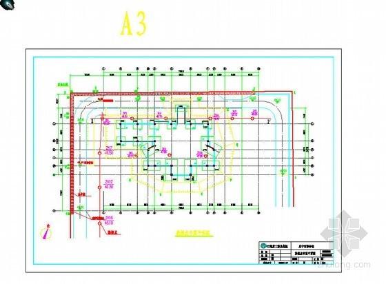 某三层博物馆地下室基坑支护设计图