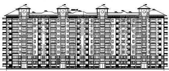 某小高层住宅建筑建施图纸