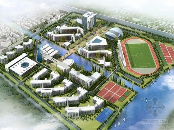 [浙江]69班绿色生态中学校园规划设计方案文本